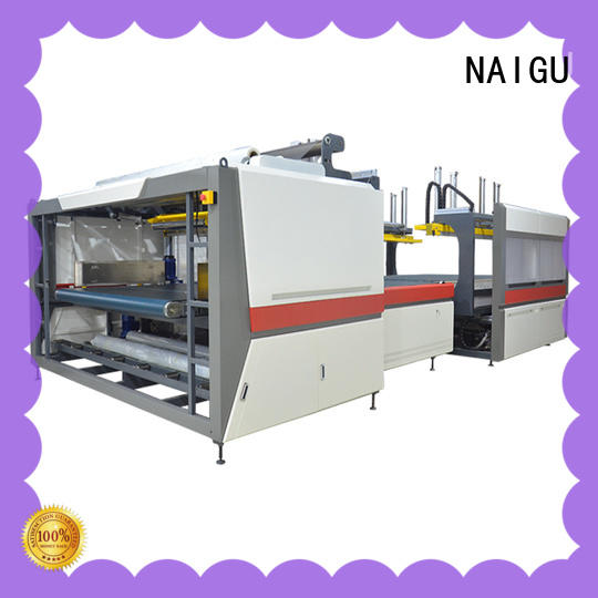NAIGU automatic mattress packaging machine supplier for non-woven
