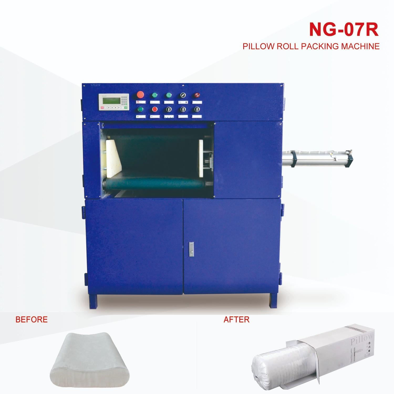 NAIGU safe pillow rolling machine manufacturer for plant