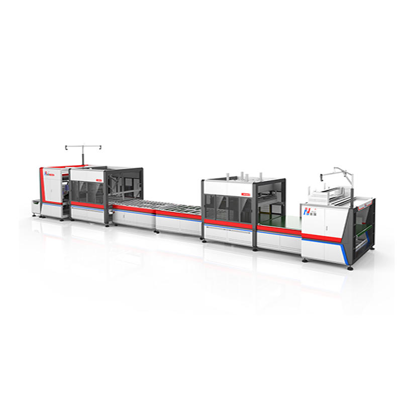 NG-23RS fully automatic variety of assembly line mattress packing mattress compress rolling folding packing machine