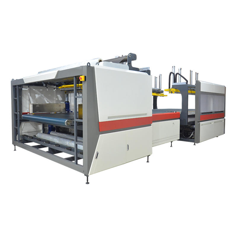 NG-51MS Automatic mattress plastic film packing machine