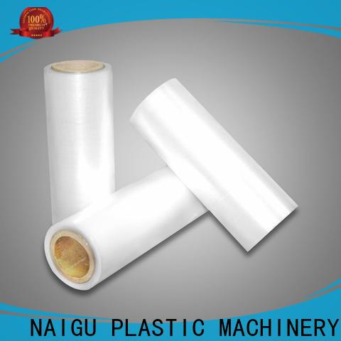 NAIGU good shrinkage Pe shrink film supplier for transportation packaging