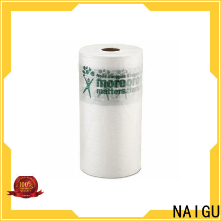 NAIGU big plastic bag with bottom seal for household