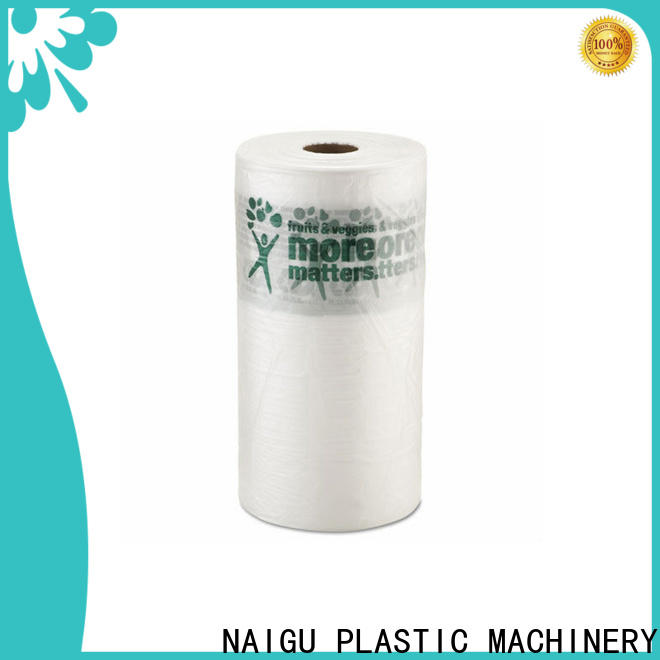 NAIGU durable clear plastic bags factory price for wrapping
