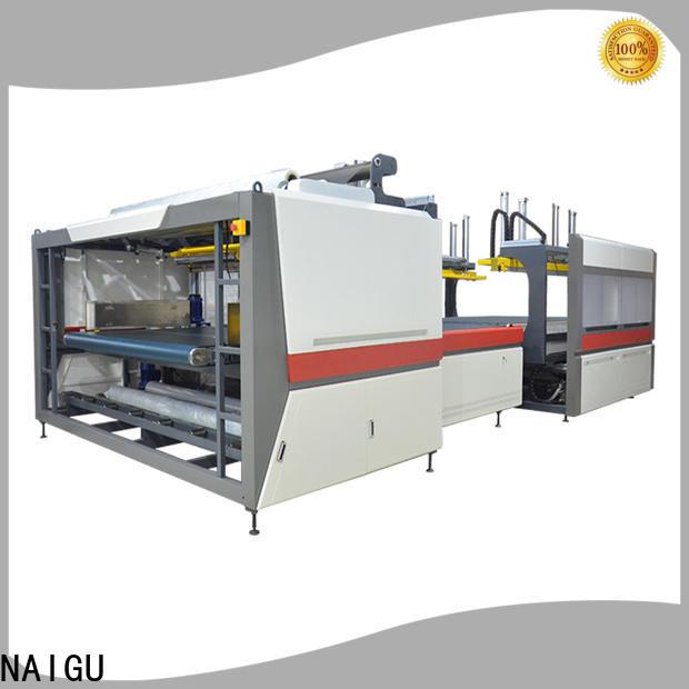 NAIGU mattress bagging machine easy to operation for seal film