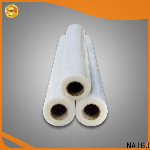 NAIGU high-performance Pe plastic film supplier for printing packaging