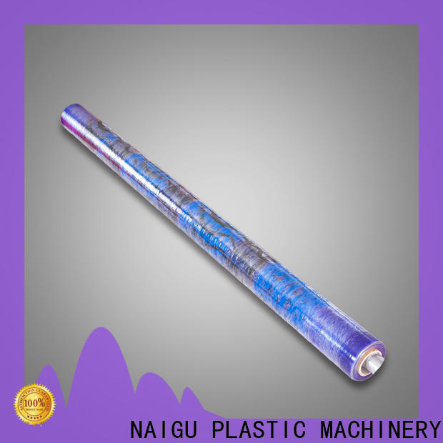 recyclable water Proof PVC printed film wholesale for packaging