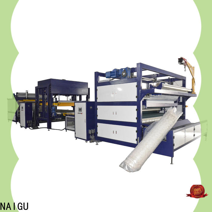 NAIGU cost-effective mattress production machines easy to operation for latex mattresses