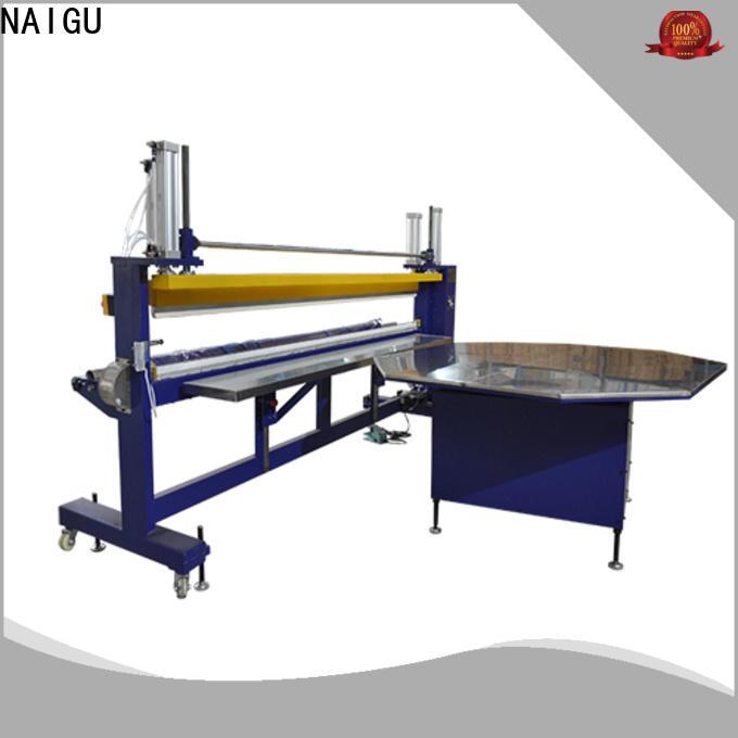 adjustable Mattress packing machine high efficiency for cut film