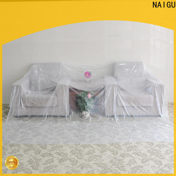NAIGU Polythene sheet wholesale for prevent dust