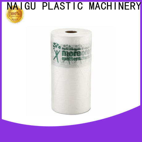 popular Plastic bag roll with bottom seal for packaging