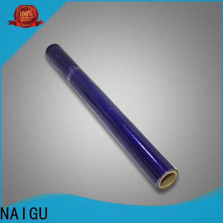 NAIGU durable pvc film roll wholesale for packaging