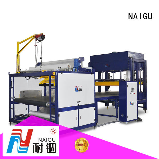 NAIGU technical automatic compression machine promotion for workshop