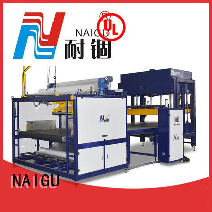 NAIGU pillow pressing machine promotion for workshop