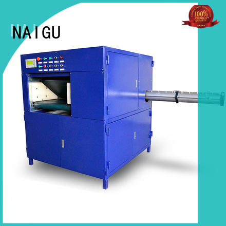NAIGU mattress roll packing machine manufacturer for workshop