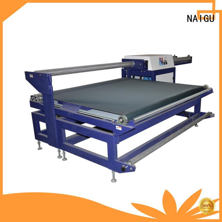 NAIGU Mattress rolling machine manufacturer for workshop