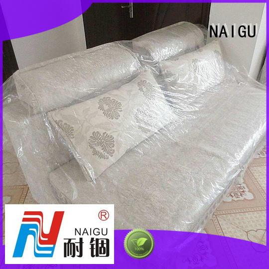 NAIGU plastic furniture cover manufacturer for travel