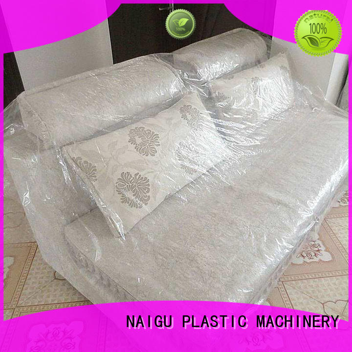 strong pull film OEM plastic furniture cover NAIGU