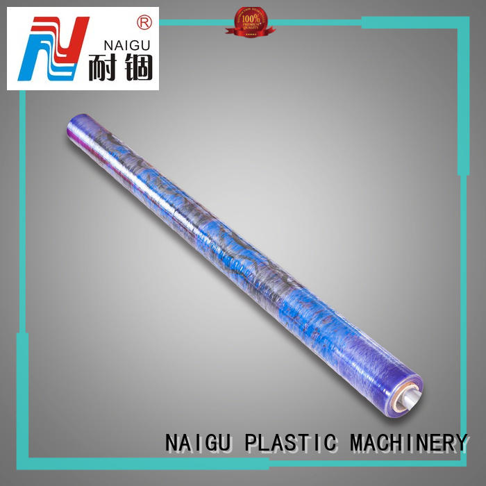 NAIGU translucent PVC printed film factory price for FMCG categories