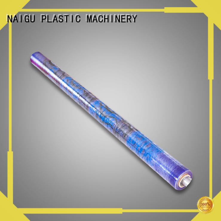 NAIGU PVC printed film factory price for wrapping