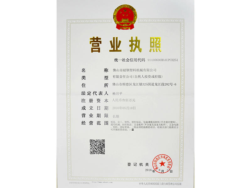 NAIGU Business License