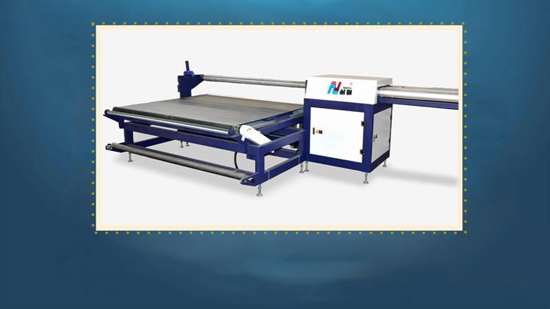 NG-06R Semi automatic mattress rolling equipment