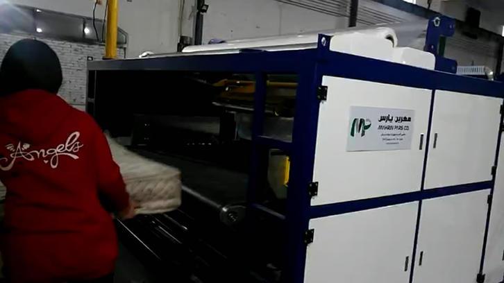 NG-51M Automatic mattress plastic film packing machine