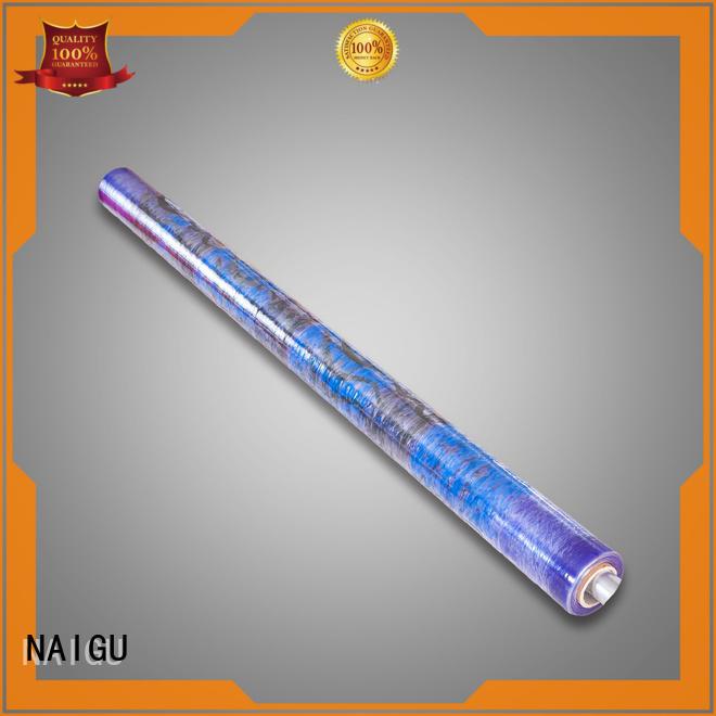 design transparent high-tech PVC printed film NAIGU