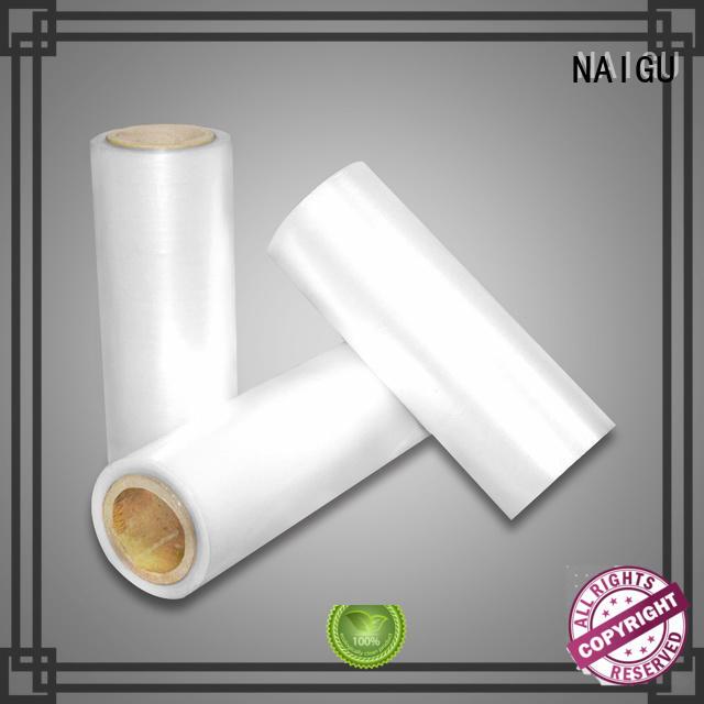 NAIGU good shrinkage film wrap supplier for transportation packaging