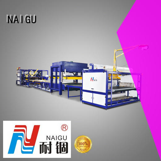NAIGU professional Mattress compression machine high efficiency for latex mattresses