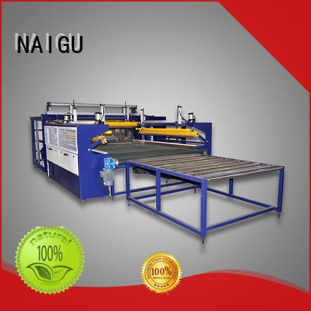 simple operation semi-automatic save labor NAIGU Brand mattress wrapping machine manufacture
