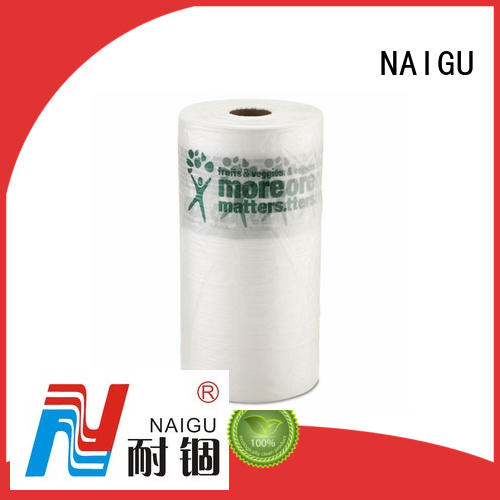 NAIGU clear plastic bags with bottom seal for wrapping