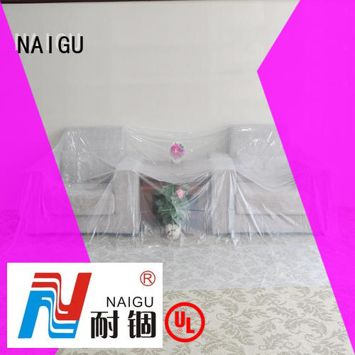 NAIGU long lasting Polythene sheet wholesale for cover furniture