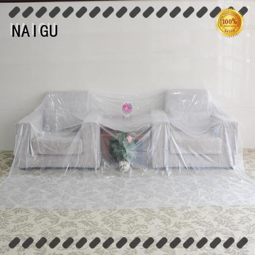 NAIGU convenient polythene cover supplier for cover furniture
