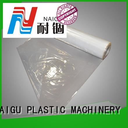 NAIGU clear plastic bags pre-opened for storage