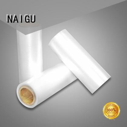 NAIGU professional Pe shrink film supplier for packaging