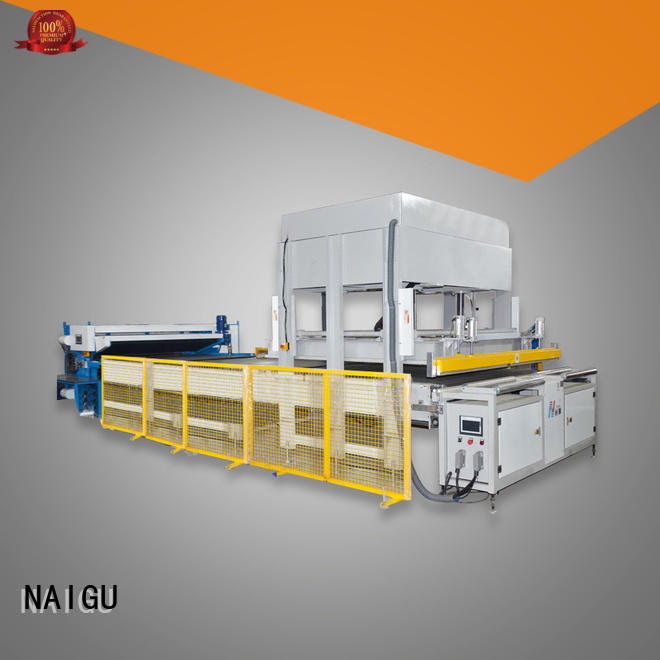 NAIGU Mattress compression machine promotion for latex mattresses