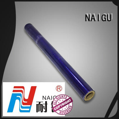NAIGU durable pvc film roll directly sale for packaging