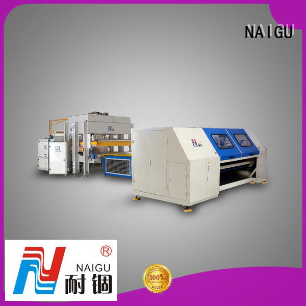 NAIGU standard mattress production machines promotion for pocket spring mattresses