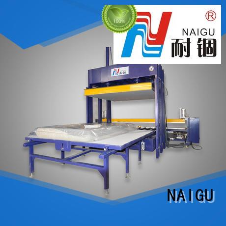 NAIGU Mattress compression machine factory price for plant