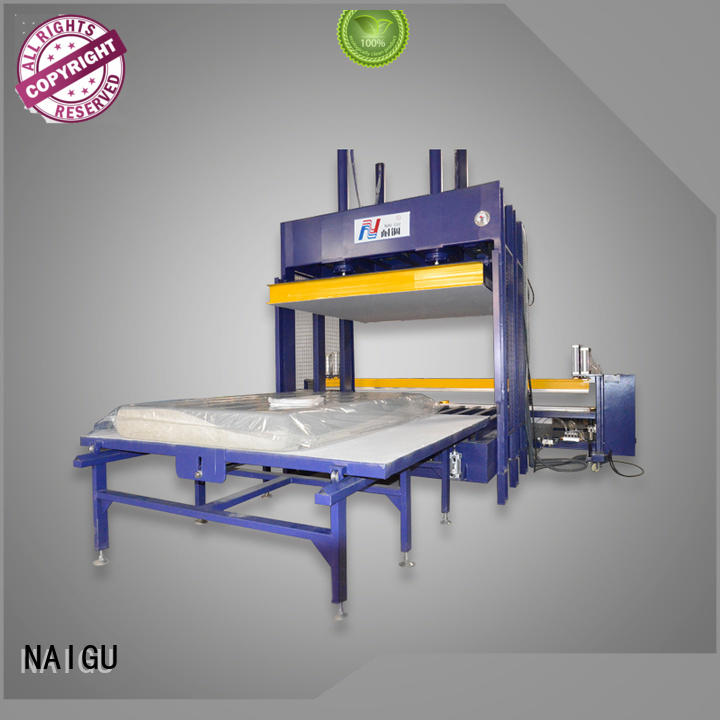 NAIGU Brand foam automatic full Mattress compression machine manufacture