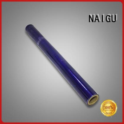 NAIGU pvc film roll manufacturer for furniture packaging