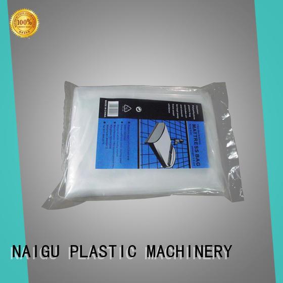 NAIGU dustproof plastic mattress bag factory for double mattresses