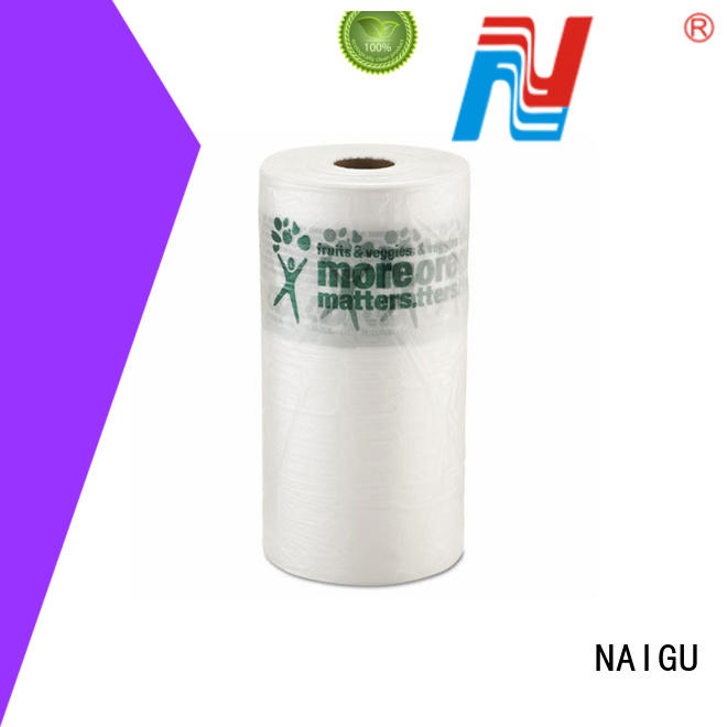 NAIGU Brand printed customized big plastic roll various