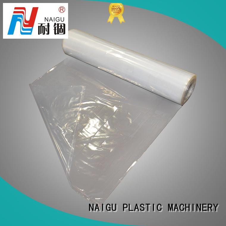 NAIGU clear plastic bags with bottom seal for packaging