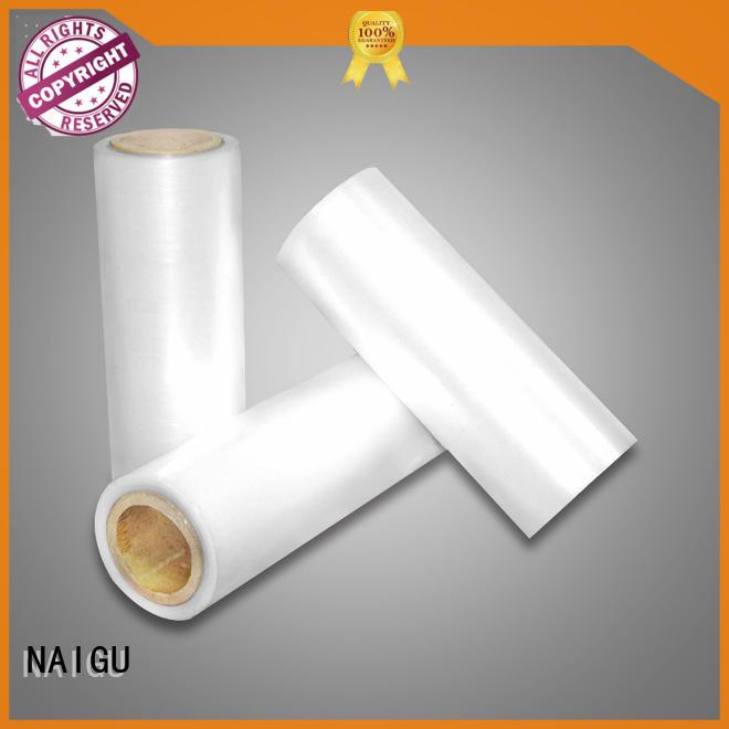 transportation good shrinkage high puncture resistance Pe shrink film sales NAIGU Brand