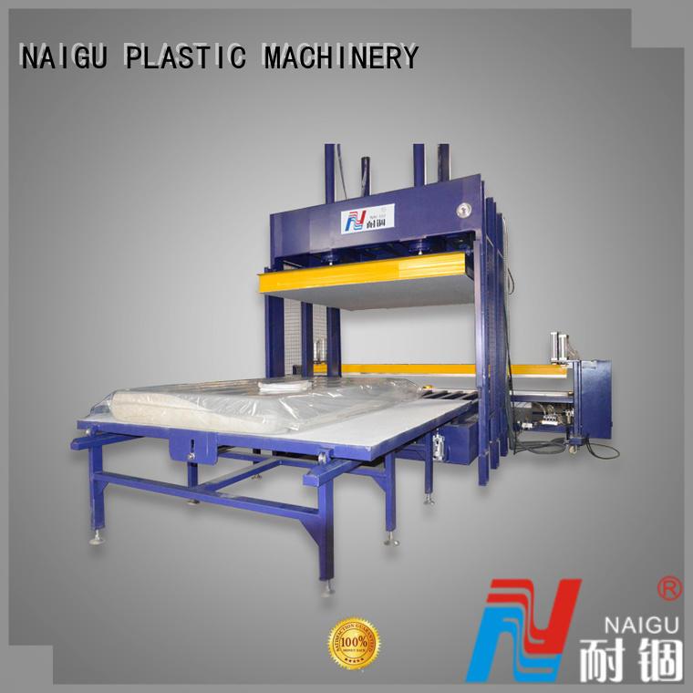 Custom full Mattress compression machine pillow NAIGU