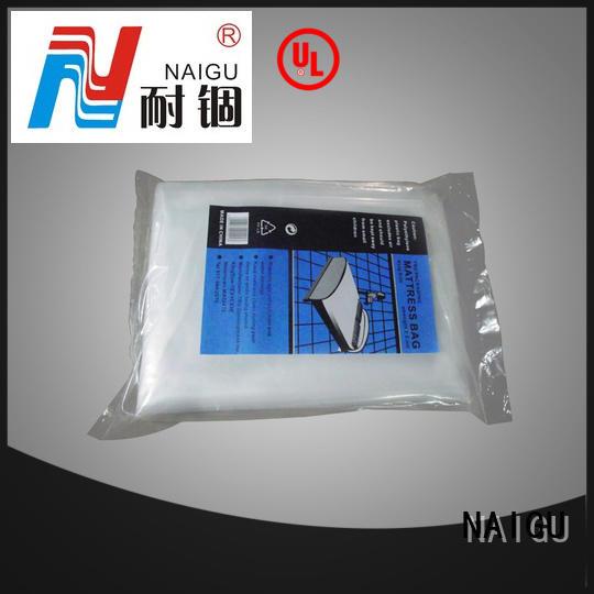 NAIGU plastic mattress bag factory for double mattresses