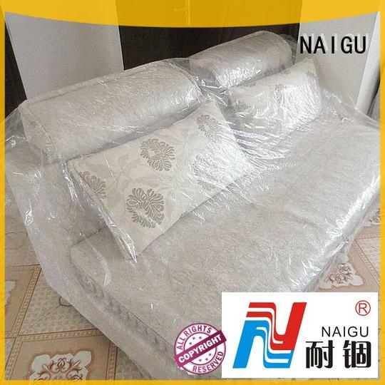 NAIGU soft plastic furniture cover manufacturer for household