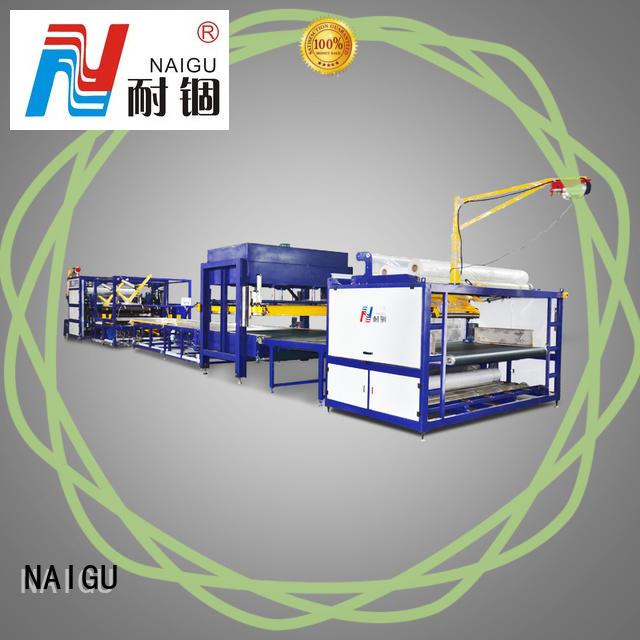 NAIGU cost-effective Mattress compression machine high efficiency for spring mattresses