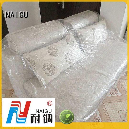 NAIGU dustproof plastic furniture cover wholesale for storage